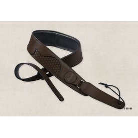 Taylor Taylor Guitar Basketweave Strap Dark Brown