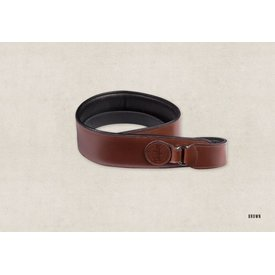 Taylor Taylor Badge Guitar Strap Brown