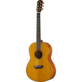 Yamaha Yamaha CSF3M VN Compact, parlor size guitar with Solid Spruce top and solid mahogany back and sides.