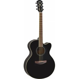 Yamaha Yamaha CPX600 BL Full body, spruce top, nato back and sides, die-cast tuners, System 65 piezo and preamp; Black