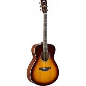 Yamaha Yamaha FS-TA BS TransAcoustic FS guitar; Brown Sunburst