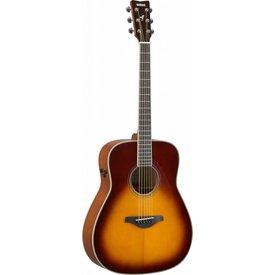 Yamaha Yamaha FG-TA BS TransAcoustic FG guitar; Brown Sunburst
