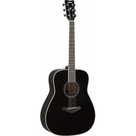 Yamaha Yamaha FG-TA BL TransAcoustic FG guitar; Black