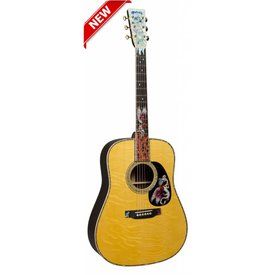 Martin Martin D-45 Fire & Ice Custom Series (Case Included)