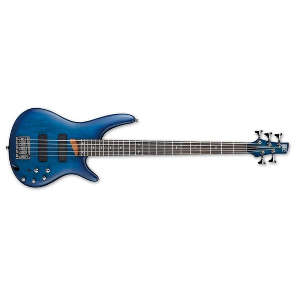 Ibanez Ibanez SR505SBF SR Standard 5str Electric Bass - Sapphire Blue Flat