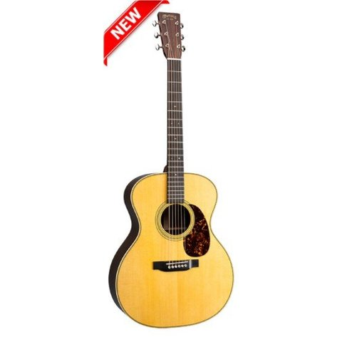 Martin GP-28E (Fishman Electronics) (New 2018) Standard Series (Case Included)