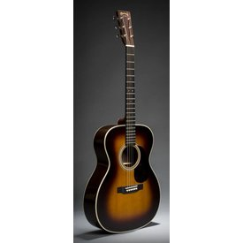 Martin Martin 000-28 Sunburst (New 2018) Standard Series (Case Included)