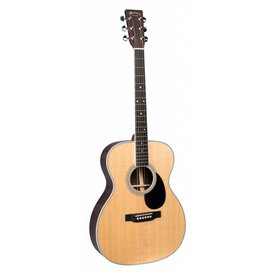 Martin Martin OM-35E (Fishman Electronics) Left Standard Series (Case Included)(Pre-2018)