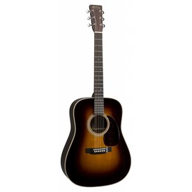 Martin Martin HD-28 Sunburst Left (New 2018) Standard Series (Case Included)