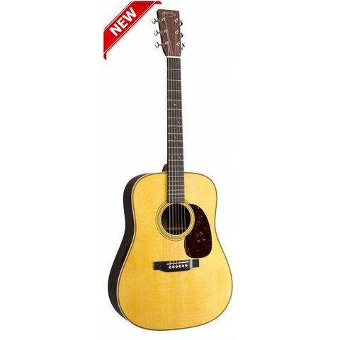 Martin HD-28E Left (Fishman Elect) (New 2018) Standard Series (Case Included)