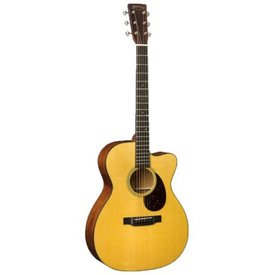 Martin Martin OM-18E (Fishman Electronics) Left Standard Series (Case Included)