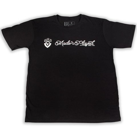 Guild Made To Be Played T Shirt - BLK - M