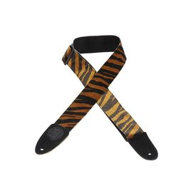 "Levy's Leathers Levy's MSSF8-TIG 2"" Faux Fur Strap w/ Polypropylene Tiger Pattern"