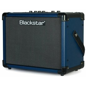 Blackstar Blackstar IDCORE10V2 BLUE 10W 2 x 3'' Digital Stereo Guitar Combo Amplifier BLUE