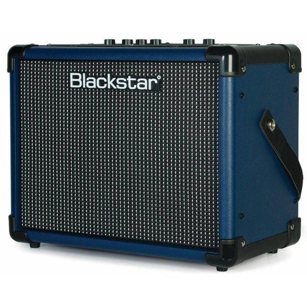 Blackstar Blackstar IDCORE10V2 BLUE 10W 2 x 3'' Digital Stereo Guitar Combo Amplifier BLUE