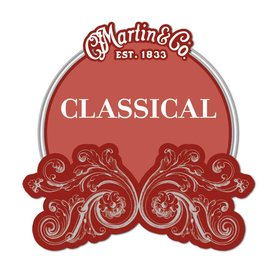 Martin Martin Classical, Regular Tension, 80/20, Plain End