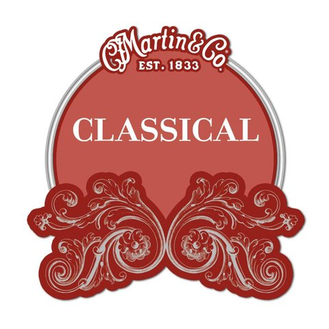 Martin Classical, High Tension, Silver-plated, Plain End
