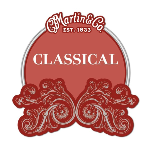 Martin Martin Classical, High Tension, Silver-plated, Plain End