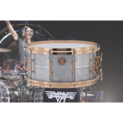 Ludwig Alex Van Halen Signature Supraphonic Snare Drum w/ Deluxe Case, COA
