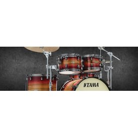 TAMA TAMA Starclassic Maple Exotix 3-piece shell pack Ruby Pacific Walnut Burst