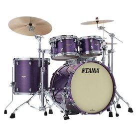 TAMA TAMA Starclassic Maple 4-piece shell pack Deeper Purple