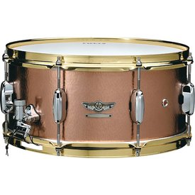 "TAMA TAMA STAR Reserve Series 6.5""x14"" snare drum (Hand hammered copper shell)"