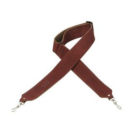 "Levy's Leathers Levy's M9S-BRG 2"" Suede Banjo Strap w/ Suede Backing Burgandy"
