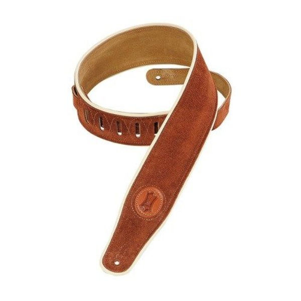 Levy's Leathers Levy's MSS3CP-RST 2 1/2'' Signature Series Suede Rust