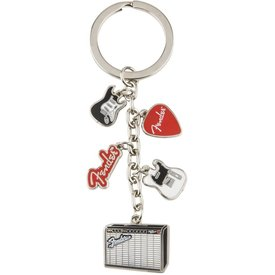 Fender Fender Multi-Icon Keychain