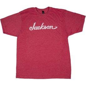 Jackson Jackson Logo T-Shirt, Heather Red, 2XL