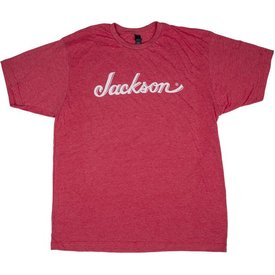 Jackson Jackson Logo T-Shirt, Heather Red, M