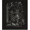 Fender Stratocaster Patent Drawing T-Shirt, Black, M