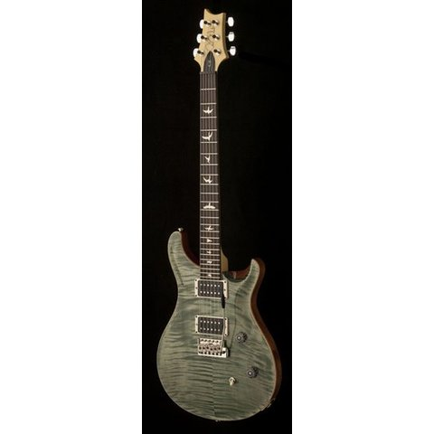 PRS Paul Reed Smith CE24 Bolt-On Flame Maple Top, Rosewood FB, w/ Case, Trampas Green