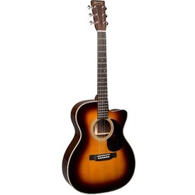 Martin Martin OMC-28E Sunburst (Fishman Electronics) Standard Series (Case Included)