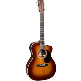 Martin Martin OMC-28E Ambertone (LR Baggs Electronics) Standard Series (Case Included)