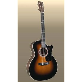 Martin Martin GPC-28E Sunburst (Fishman Electronics) Standard Series (Case Included)