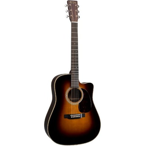 Martin HDC-28E Sunburst Left (Fishman Elect) Standard Series (Case Included)