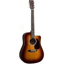 Martin Martin HDC-28E Ambertone Left (Fishman Elect) Standard Series (Case Included)