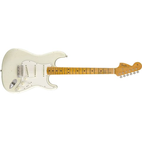 JIMI HENDRIX VOODOO CHILD, Journeyman Relic, Maple Fingerboard, Olympic White