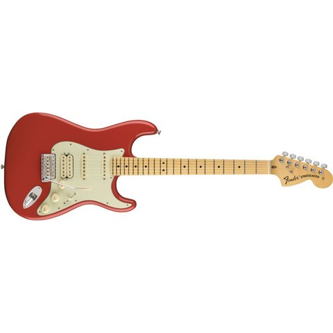 American Special Stratocaster HSS, Maple Fingerboard, Fiesta Red