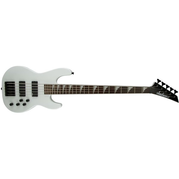 Jackson X Series Concert Bass CBXNT V, Rosewood Fingerboard, Snow White