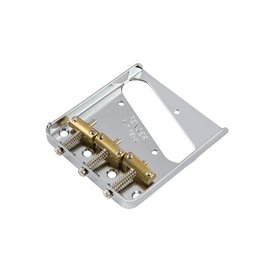 Fender 3-Saddle American Pro Telecaster Bridge Assembly (Chrome)