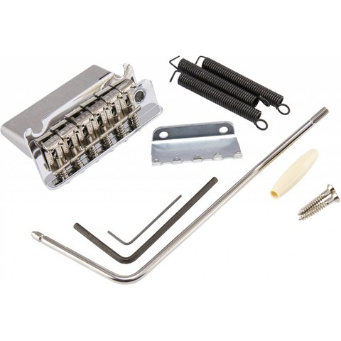 American Professional Strat Bridge Assembly, Chrome