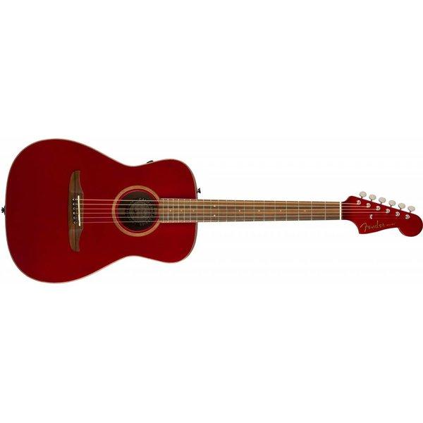 Fender Malibu Classic, Hot Rod Red Metallic w/bag