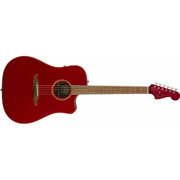 Fender Redondo Classic, Hot Rod Red Metallic w/bag