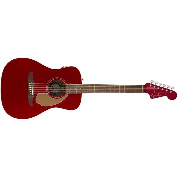 Fender Malibu Player, Candy Apple Red