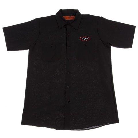 EVH Woven Shirt, Black, XXXL