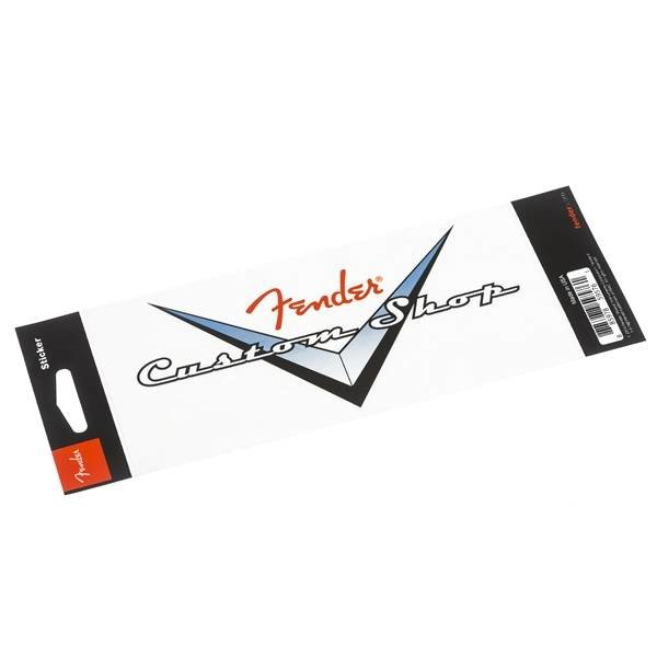 Fender Fender Custom Shop Logo Sticker