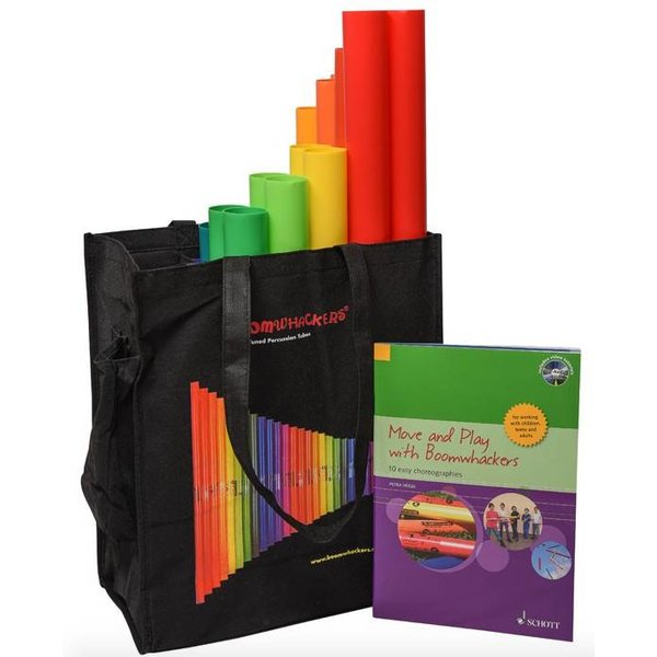 Boomwhackers BoomWhacker BWMP Move and Play Set