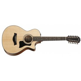Taylor Taylor 300 Series 352ce Grand Concert 12-Fret 12-String Acoustic, Electric